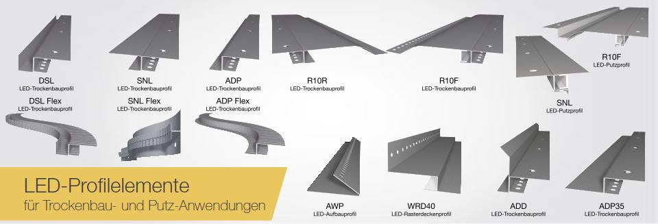 Led Profile Indirekte Beleuchtung | Produkte Vitalcontour Com